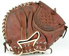 """All-Star (?) 33.5"""" Youth Catchers Mitt Right Hand Throw Custom Red/White Color"""