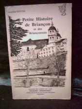 Routier. PETITE HISTOIRE DE BRIANÇON & DES BRIANÇONNAIS. NUMÉROTÉ. MONOGRAPHIES