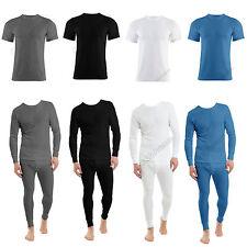 Men's Thermal Long Johns  Short Sleeve T-Shirts Winter Warm Thermal Underwear