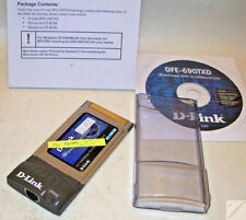 PC.Card Netzkarte mit Box D-Link DFE DFE-690TXD PCMCIA 10/100 Notebook _ec