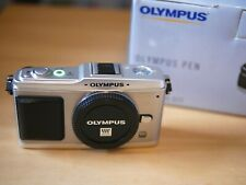 Olympus PEN E-P1 12.3MP Digital Camera - Silver (Body only) - m43