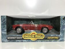 1:18 American Muscle 1962 Corvette - NIB *Cracked Plastic*