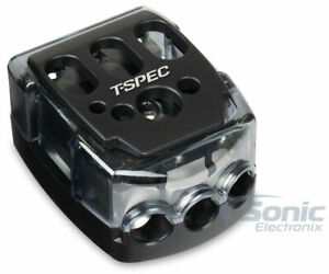T-Spec V-DIST-PWR 1/0 - 8 AWG In 4 - 10 AWG Battery Terminal Distribution Block