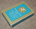 THE MILWAUKEE SUPER DOME ROUTE OF THE HIAWATHAS PINOCHLE PLAYING CARDS BLUE