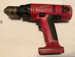 Milwaukee Tools 18v Cordless Hammer Drill