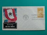 1948 GOLD STAR MOTHERS Patriotic Military Fluegel Cachet First Day Cover Mail