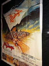 LE MESSAGE !  MUSTAPHA AKKAD anthony quinn affiche cinema 1976