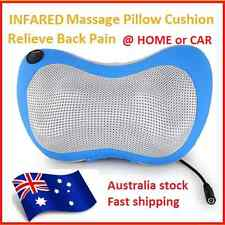 Massage Shiatsu Slimline Cushion Car Home Pillow Massager Neck Back AU Plug