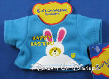 NEW BUILD-A-BEAR YELLOW EASTER MINI TEE SHIRT SMALLFRYS BUDDIES CLOTHES TOP