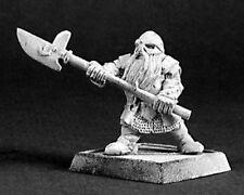 1 x HALBARDIER DWARF - WARLORDS REAPER miniature d&d jdr rpg d&d nain 14397 r