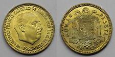 ESPAÑA FRANCO 1963 *19-67 UNA 1 PESETA MONEDA COBRE EBC+