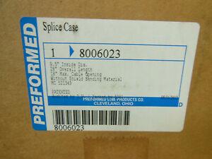 "Preformed Line Products PLP 8006023 8000630 Armadillo Splice Case 9.5"" X 28"" NEW"
