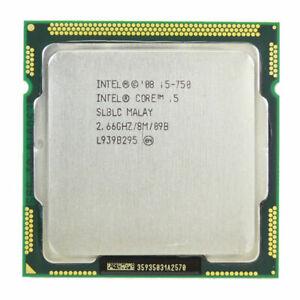 INTEL QUAD CORE I5-750 2.66GHZ 8M PROCESSOR CPU LGA1156