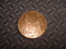 MÉDAILLE Bronze MONNAIE de PARIS  Exposition 1900 Les FONDEURS de Métaux