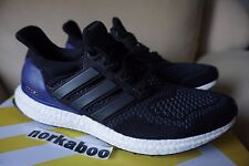 Adidas Ultra Boost 1.0 OG Core Black Purple B27171 white rare wool sz 8 0723248c3