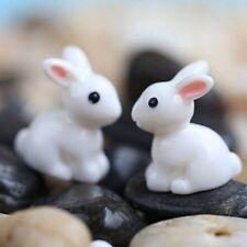 4*Décorations de jardin maison Meuble production de l'artisanat lapins chaud