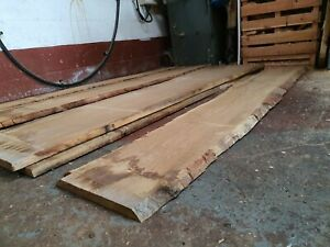 Oak waney edge -suitable for resin tables