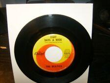 the Beatles 45 VG+ 1968 Capitol LBL British Invasion / Pop / Mach STAMP NOs