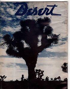 1941 Desert October - Austin, Hamilton NV; Lost Dutch Oven Mine; El Cajon Rocks