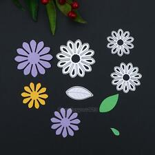 Flower Leaf DIY Metal Cutting Die Stencils Scrapbooking Album Paper Card Craft