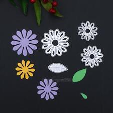 Flower Leaf DIY Metal Cutting Die Stencils Scrapbooking Album Paper Card Craft