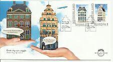 NEDERLAND 2012 - FDC E 643 - KLM HUISJES - WERELD - EUROPA - BLANCO OPEN KLEP