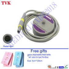 Edan Doppler Fetal Us Sensor Transducer For F3 Fetal Monitor Compatible Sensor