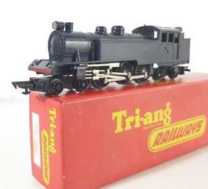RARE TRIANG HORNBY R56 OO - TC SERIES BLACK, WEB CLASS 4-6-4 BALTIC TANK No.4830