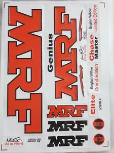 MRF Cricket Bat Sticker 3D Embossed + AU Stock + Free Shipping
