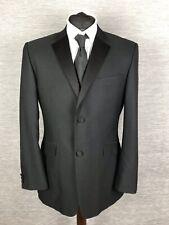 Burton Mens Jacket Blazer Size 40R Regular Wool Black