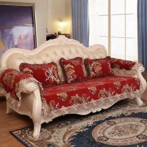 European Style Sofa Cushion Pillow Cushion Cover Towel Non-slip Cover Cushion
