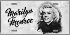 MARILYN MONROE PENCIL ART WORK LICENSE PLATE,  Made in USA