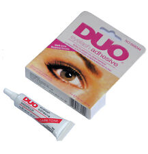 DUO Waterproof Eyelash Glue, False Eyelash Adhesive, Dark-Tone - Dries Black
