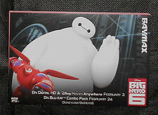 BIG HERO 6 MOVIE PROMO CHARACTER ACTIVITY CARDS DISNEY OSCAR GOLDEN GLOBE BAFTA