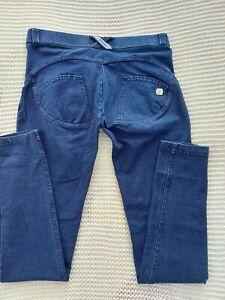 Freddy WR. UP Pantalone Lungo Blau Stoff Leggings M - 38