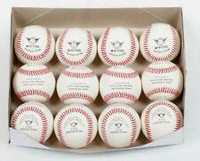 10 dozen Professional Grade 100% wool wound flat seam Game Balls factory priced
