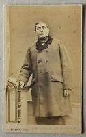 CDV Da L.Sylvain Fotografia a Parigi Vintage Albumina Ca 1860