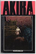 Akira #1 First Printing! Epic Comics 1988 Katsuhiro Otomo Marvel Tetsuo Kaneda