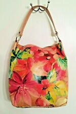 Versatile MAURIZIO TAIUTI Tote Leather Flower Large Designer Painted  - Italy