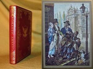 ROMANTIC AMERICA, 19th CENTURY JOURNEY Fine Binding Slipcase 4to Color Prints
