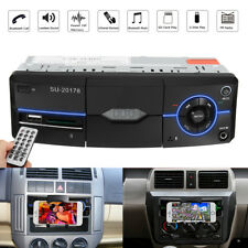 Bluetooth Car Stereo Head Unit MP3 Player FM Radio SD USB AUX-IN Remote + Holder