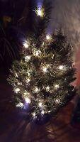 NOS GE Holiday Classics 50 Light 2' Tennessee Pine Christmas Tree & Original Box