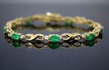 Bracciali di lusso tennis smeraldo diamante