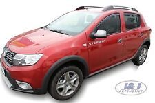 DDA13113 DACIA SANDERO 5 dr 2012- up wind deflectors 4pc set TINTED HEKO