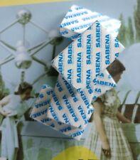 Sabena memorabilia -  5 x small  travel guest soaps- airline Belgium
