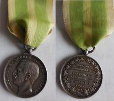 medaglia in argento terremoto Calabro-Siculo 1908 conio Zecca