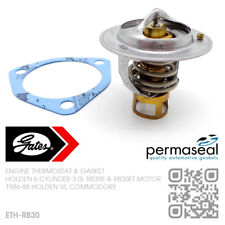 GATES THERMOSTAT & GASKET 6-CYL RB30E & RB30ET TURBO 3.0L [HOLDEN VL COMMODORE]