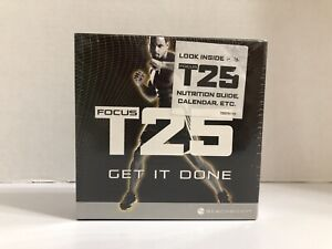 Beachbody Focus T25 Get It Done DVD Set - Alpha + Beta Workout Brand New