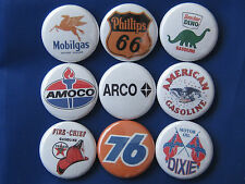 ARCO 76 DIXIE FIRE CHEIF GAS OIL Pinbacks Buttons VT