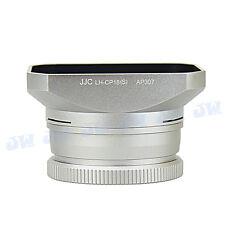JJC SILVER Lens Hood & Filter Adapter Set for NIKON COOLPIX A as HN-CP18 UR-E24